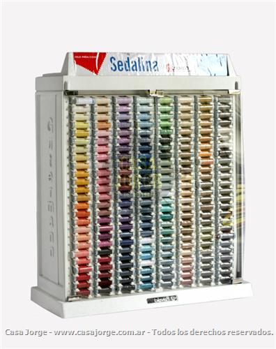 EXHIBIDORES DE HILO GUTERMANN ALGODON 200 COLORES CON MEDIA CARGA